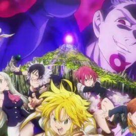La Película Nanatsu no Taizai: Tenku no Torawarebito conoce a los nuevos personajes