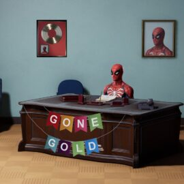 Spiderman para la PS4 ya es GOLD