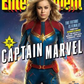 Brie Larson es Captain Marvel