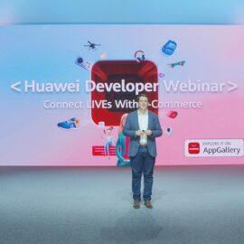 Webinar de Huawei Developer , comercio electrónico.