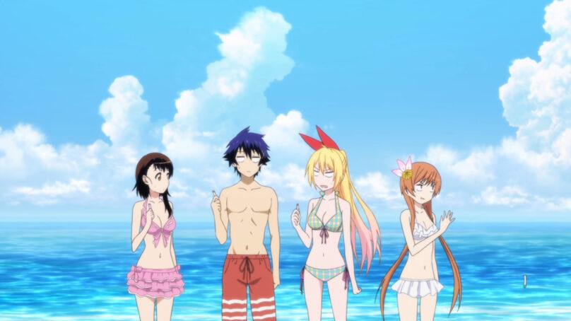 ¿Por qué el capítulo de la playa en el anime?