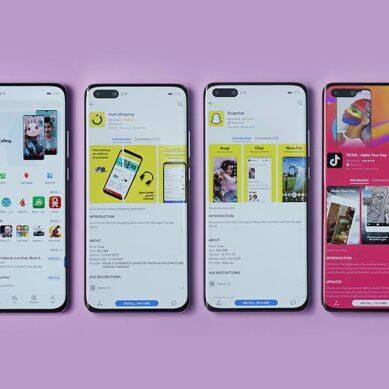 La AppGallery de Huawei