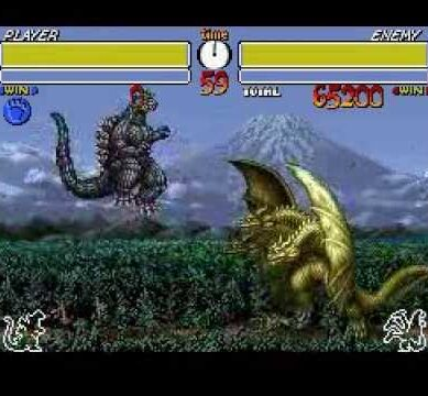GODZILLA MONSTER WARS