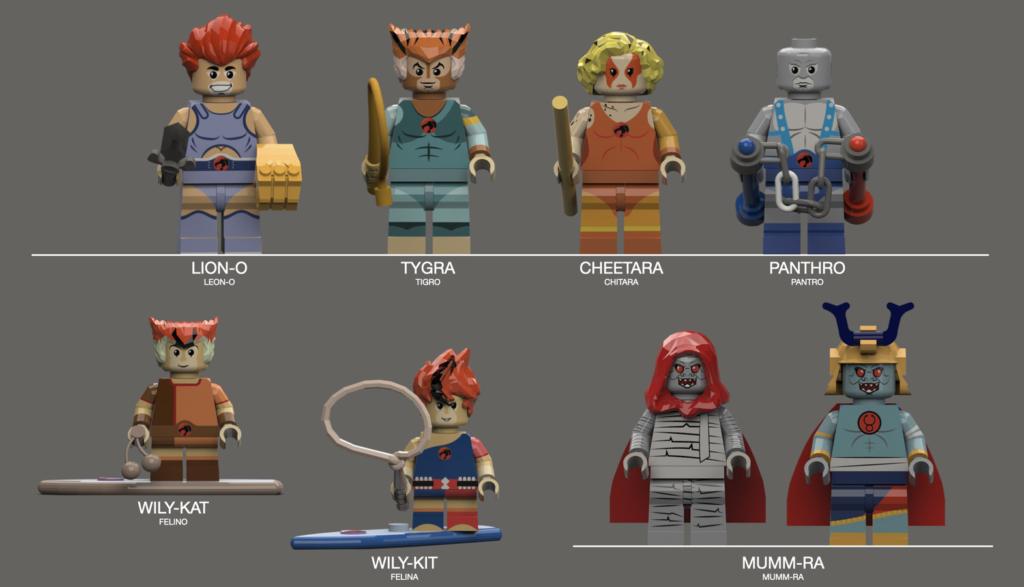 Thundercats lego set