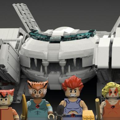 Los Thundercats podrían estar al alcance de tus manos junto a LEGO